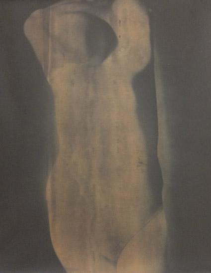 Body Work, 2014, 74 x 84cm, vintage silver barite, sold