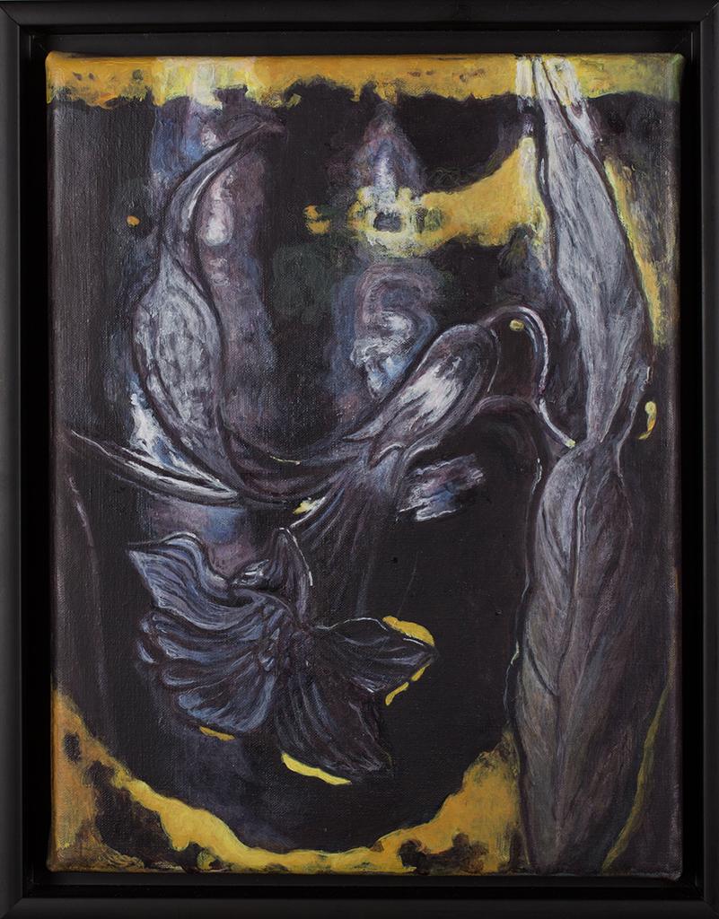 Brieke Drost - olieverf op linnen, 25 x 30 cm, €1.450,-