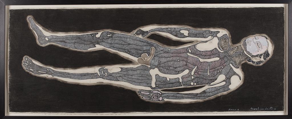 Sarah van der Pols - Amae 12, 140 x 55 cm, €4.750,-